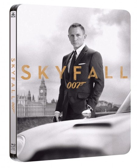 Skyfall HMV Exclusive Steelbook
