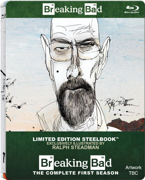 "Breaking Bad: Season 1"" is getting a fantastic, Ralph Steadman ..."