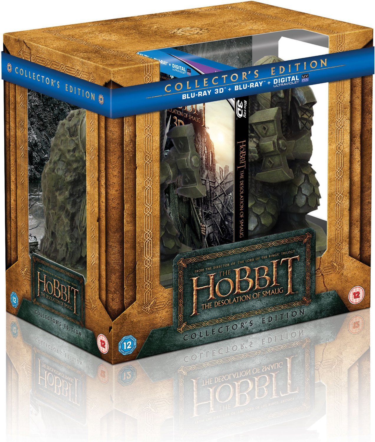 The hobbit the desolation of smaug is getting a fine looking 39 book end 39 limited edition - Hobbit book ends ...