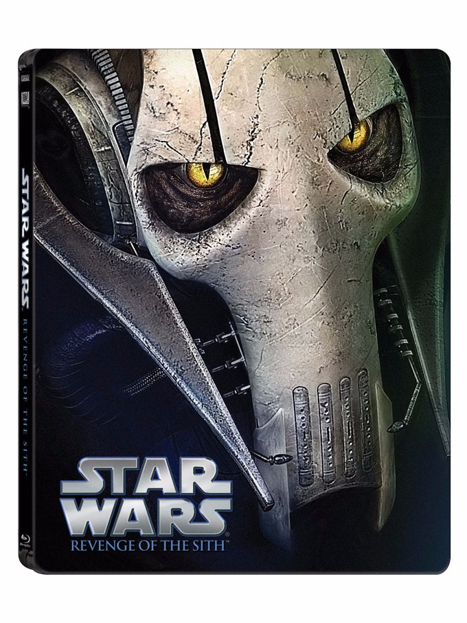 Sci Fi Prequel Star Wars Episode Iii Revenge Of The Sith Is Getting A New Steelbook Release This Year Steelbook Blu Ray News