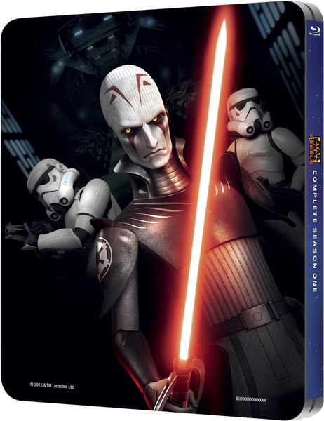 Season 1 Of Animated Sci Fi Show Star Wars Rebels Is Coming To Uk Steelbook With A Zavvi Exclusive In February Steelbook Blu Ray News