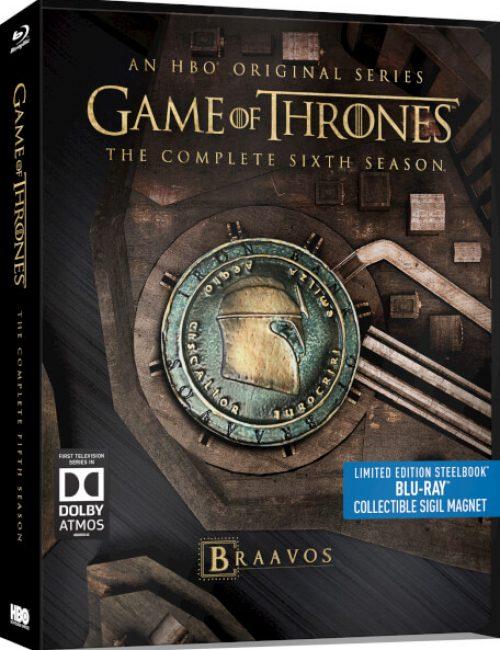 Season 6 Of Game Of Thrones Is Coming To Uk Steelbook In November Steelbook Blu Ray News