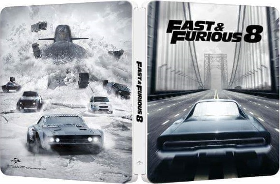 fast furious 8 steelbook. Black Bedroom Furniture Sets. Home Design Ideas