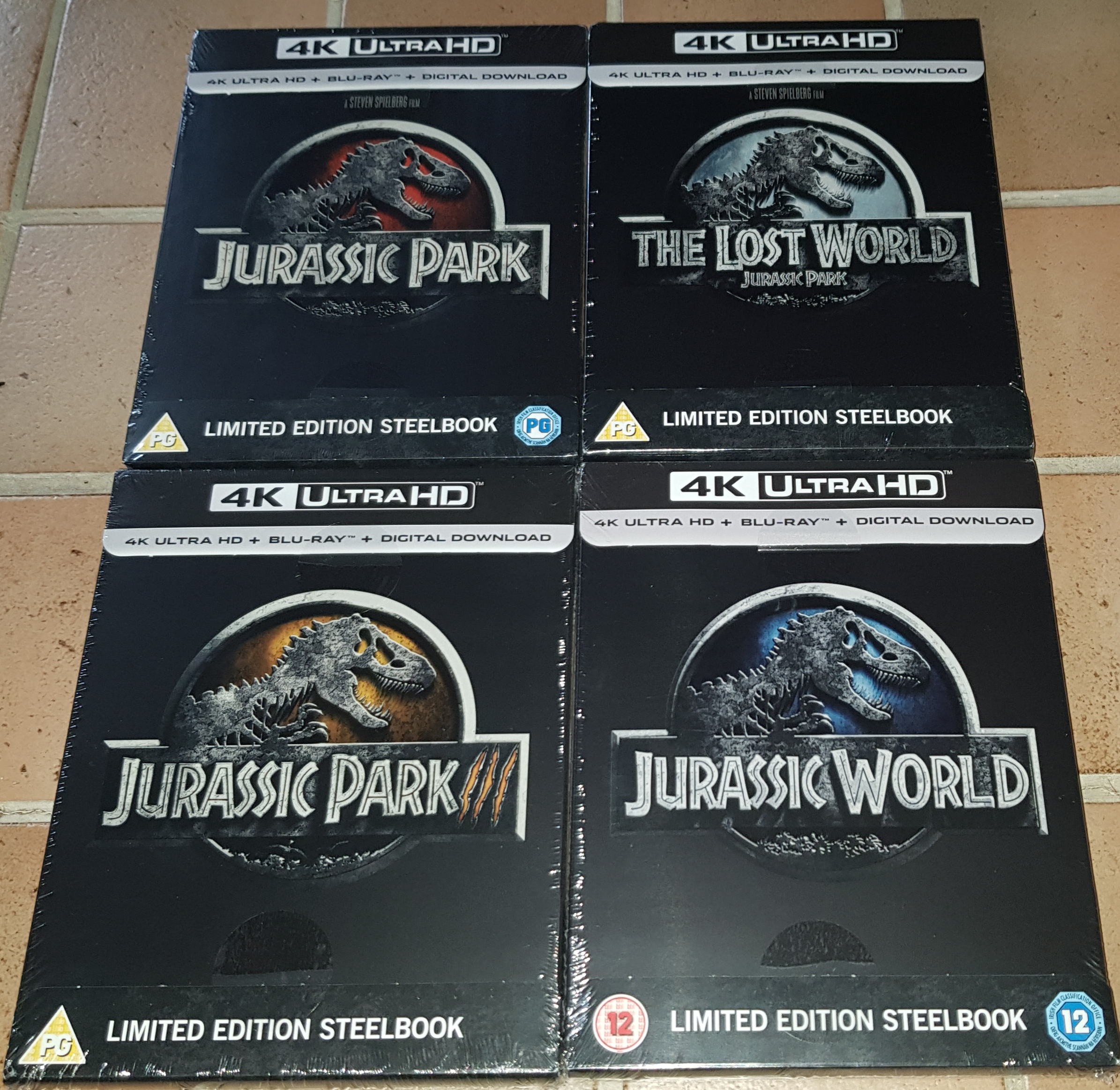Competition Time Win The First Four Jurassic Park Movies On 4k Steelbook Steelbook Blu Ray News