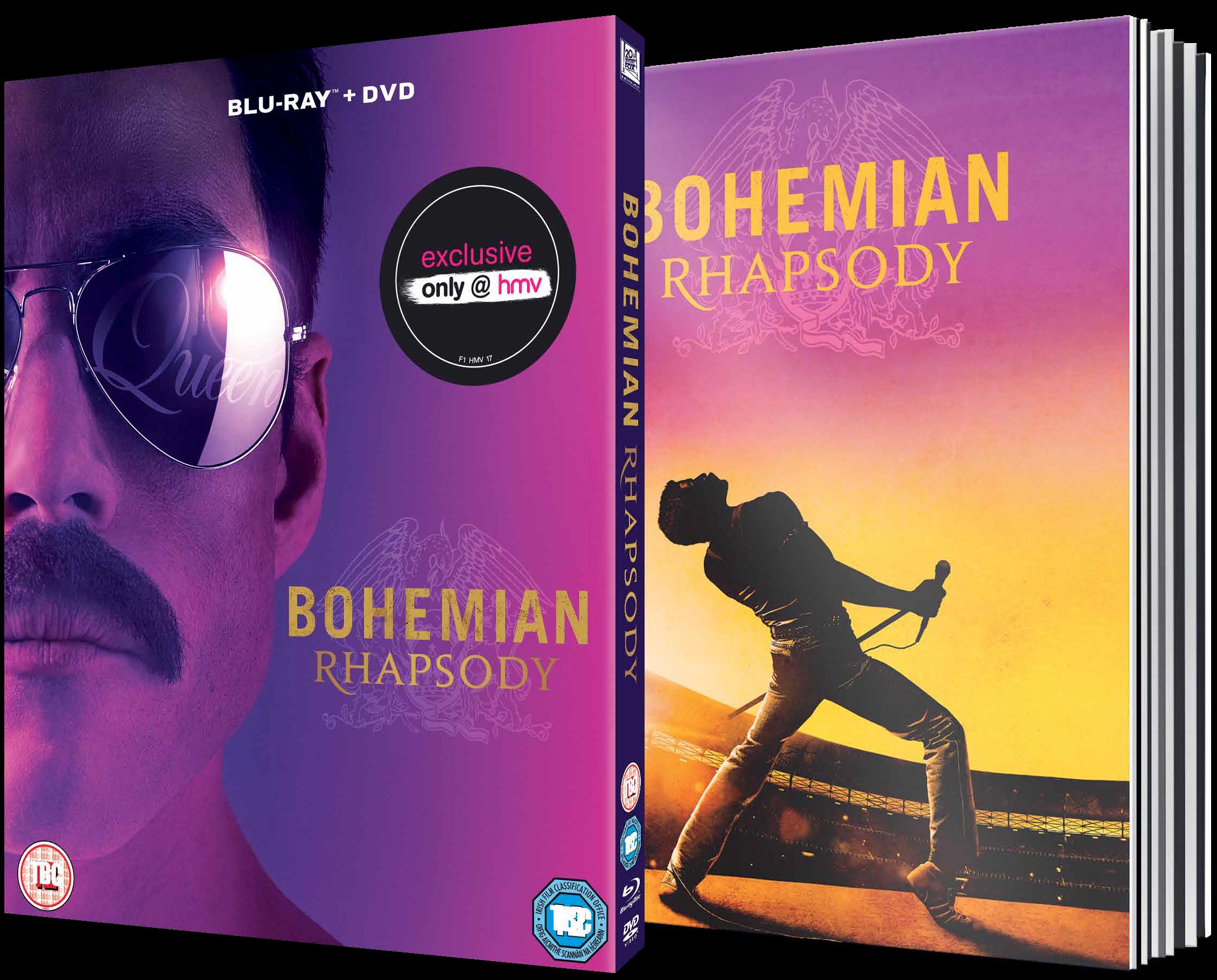 Freddie Mercury Biopic Bohemian Rhapsody Is Getting A Digibook Blu